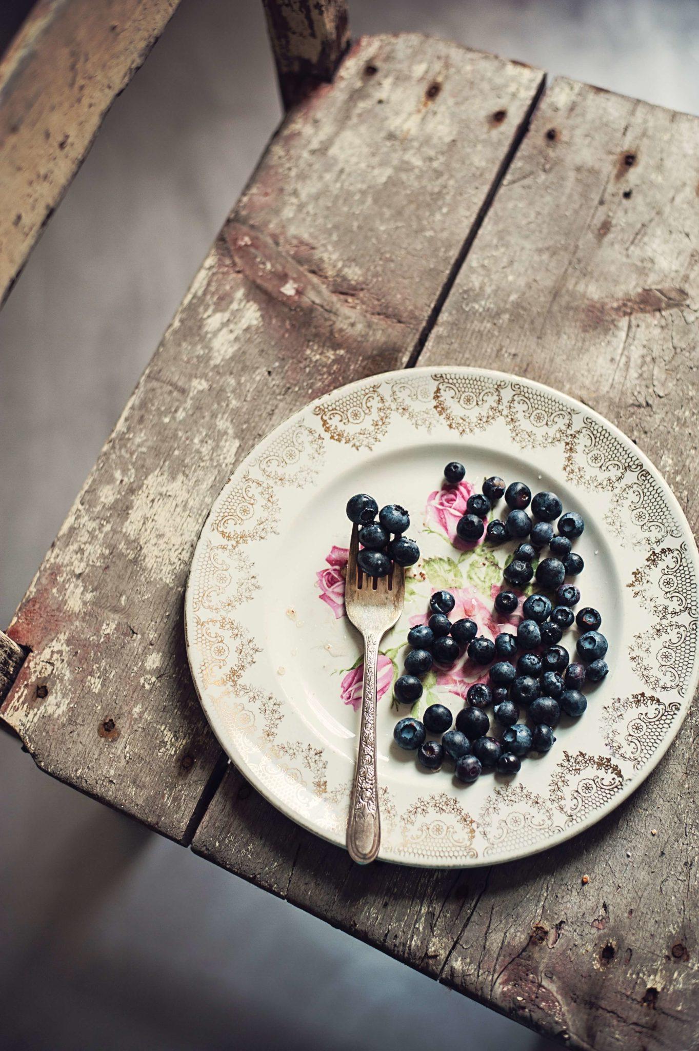 Borůvková bublanina lowcarb bez mouky a cukru